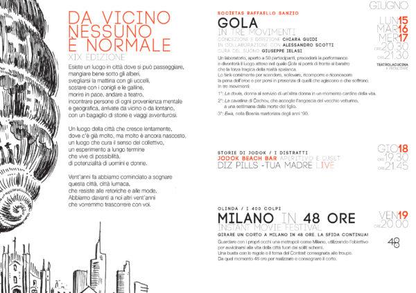 CARLO GAZZI GRAFICA ILLUSTRAZIONE DVNN15 PROGRAMMA 1